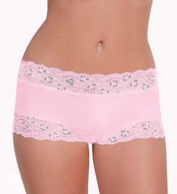 Knock out! Smart Panties Lacy Boyshort Panty