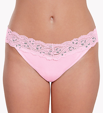 Knock out! Smart Panties Lacy Combo Low Rise Thong