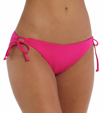 L Space Solids Dandy Keyhole Tie Side Swim Bottom