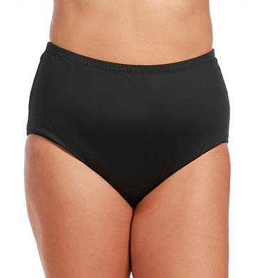 La Blanca Core Solid Plus Size High Waist Swim Bottom