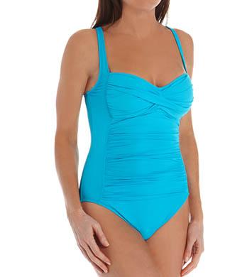 La Blanca Core Solid OTS Foam Cup One Piece Swimsuit