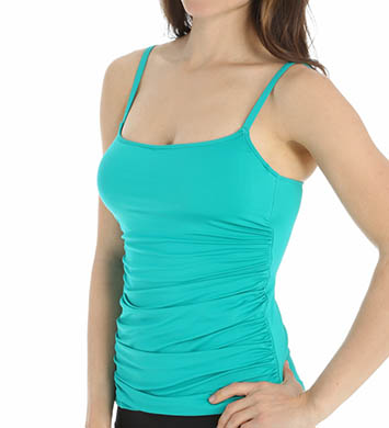 La Blanca Core Solid Underwire Tankini Swim Top