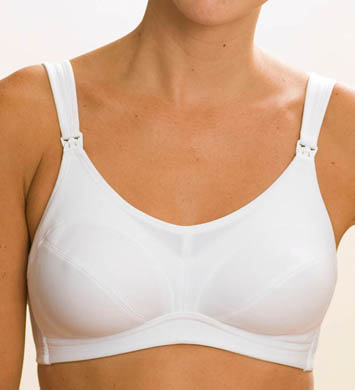 La Leche League Elizabeth No Wire Nursing Bra