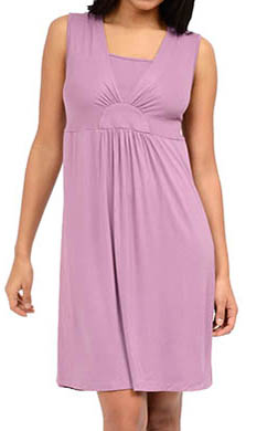 La Leche League Layered V-Neck Sleeveless Nursing Chemise