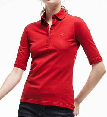 Lacoste Half Sleeve Stretch Pique Polo