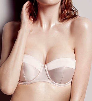 L'Agent by Agent Provocateur Penelope Padded Strapless Push-Up Bra