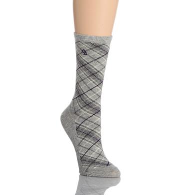 Lauren Ralph Lauren Bias Plaid Trouser Socks