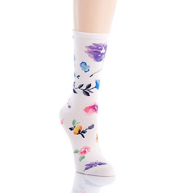 Lauren Ralph Lauren Mesh Floral Trouser Sock