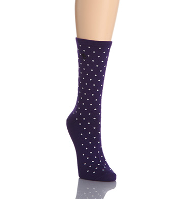 Lauren Ralph Lauren Medium Pindot Trouser Sock