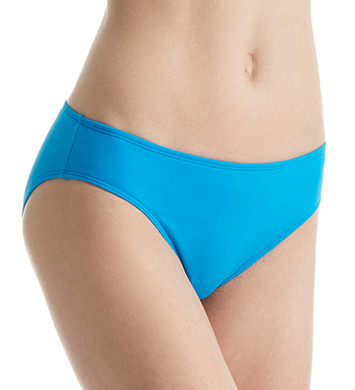 Lauren Ralph Lauren Beach Club Solid Hipster Swim Bottom