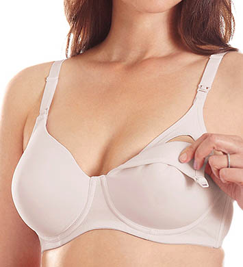 Leading Lady Contour Stretch Padded Underwire Nursing Bra