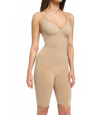 Lipo in a Box Core Firm Control Long Leg Bodysuit with Underwire
