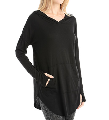 Love & Grace Matilda Hoody Pouch Tunic Top