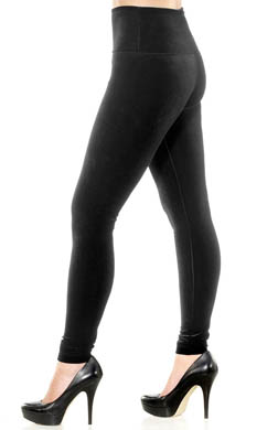 Lysse Leggings Fashion Velvet Tight Ankle