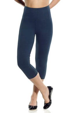 Lysse Leggings Perfect Denim Knit Shaping Capri