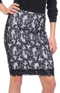 Lysse Leggings Lace Overlay Skirt