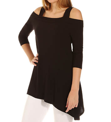Lysse Leggings Smoothing Cold Shoulder Top