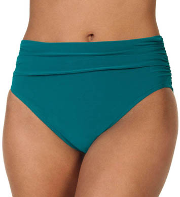 MagicSuit Solid Jersey Swim Bottom With Shirring