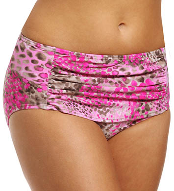 Maidenform Beach Wild Life Custom Lift Hi Waist Swim Bottom