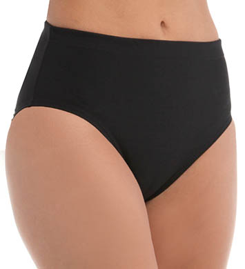 Maidenform Beach Solids Hi Waist Swim Bottom