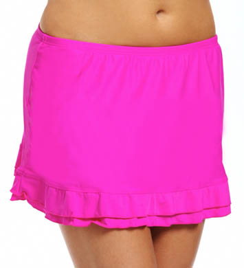 Maidenform Beach Solids Skirted Swim Bottom