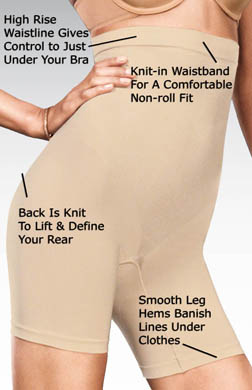 Maidenform Control It  High Waist Thigh Slimmer