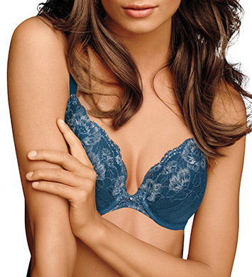 Maidenform Comfort Devotion Embellished Plunge Push Up Bra