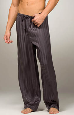 Mansilk Striped Jacquard PJ Pant