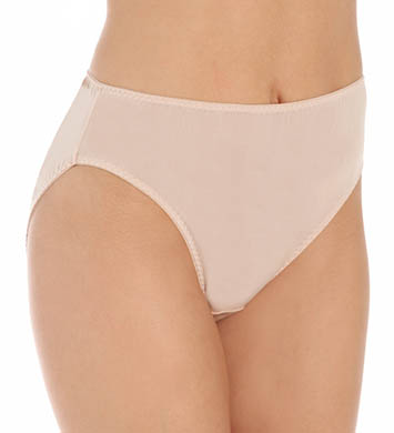 Mary Green Silk Knit Hi-Cut Full Brief Panty