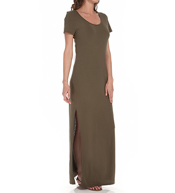 Michael Stars Jersey Knit Maxi Tee Dress