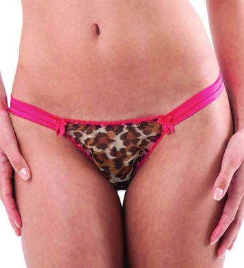 Mimi Holliday Cheeky Minx Hipster Thong With Satin Sides