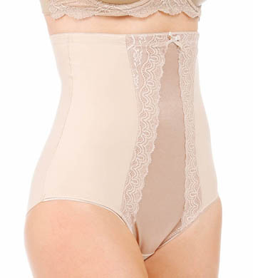 Miraclesuit Extra Firm Control Hi-Waist Brief with Lace