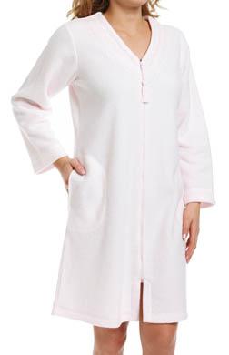 Miss Elaine Sofiknit Zip Front Robe