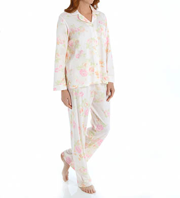 Miss Elaine Sofiknit Long Sleeve PJ Set