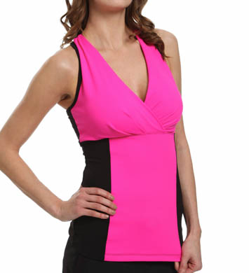 MSP by Miraclesuit Essentials Color Block Miraslim Tank