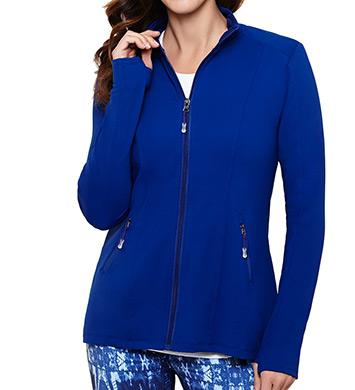 MSP by Miraclesuit Essentials Hi-Low Athletic Jacket