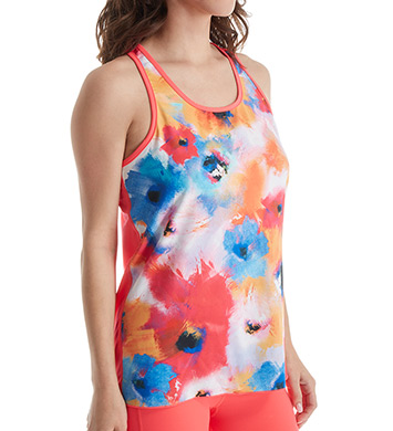 MSP by Miraclesuit Print Haven Reversible Racerback Tank