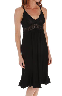 Mystique Intimates Bliss Knit Ballet Length Gown