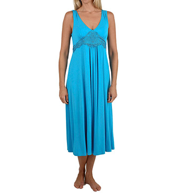 Mystique Intimates Dreamy Ballet Length Gown