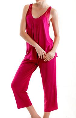 Mystique Intimates Olivia Capri Pant Pajama Set