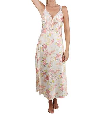 Mystique Intimates Hydrangea Ballet Length Gown