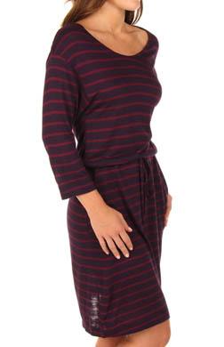 N by Natori Sleepwear Mei Sleepshirt Stripe Jersey