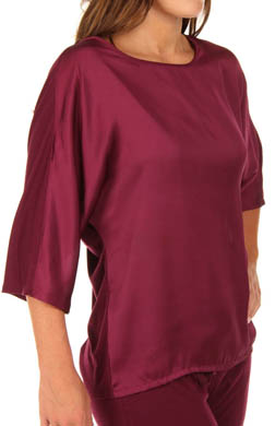 N by Natori Sleepwear Taki 3/4 Sleeve Jersey Top