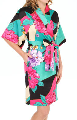 N by Natori Sleepwear Beijing Flower Wrap