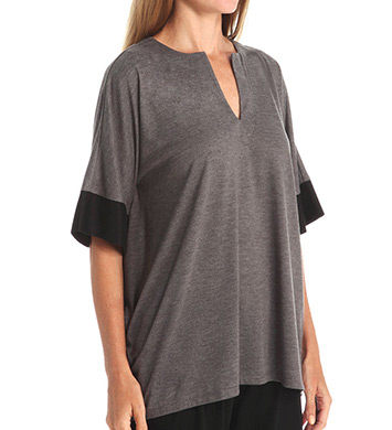 N by Natori Sleepwear Oasis Solid Jersey Tunic Top