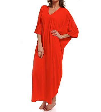 N by Natori Sleepwear Oasis Long Caftan