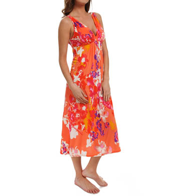 N by Natori Sleepwear Shanghai Flower Long Gown