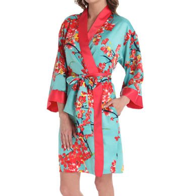 N by Natori Sleepwear Sunset Blossom Wrap