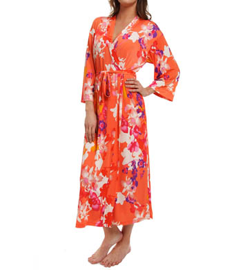 N by Natori Sleepwear Shanghai Flower Long Robe