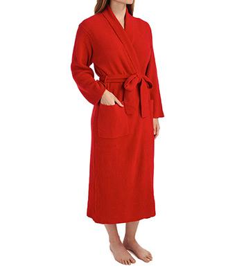 N by Natori Sleepwear Rib Chenille Solid Sweater Knit Robe